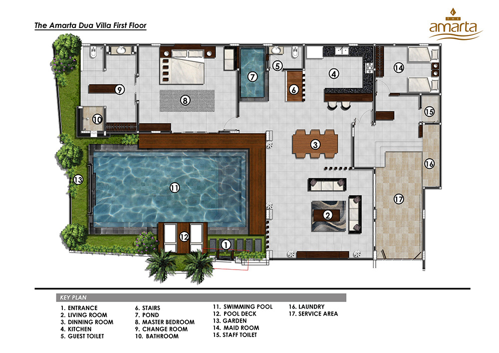 Pool suite gallery for Swimming pool floor plan
